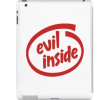Evil Inside iPad Case/Skin