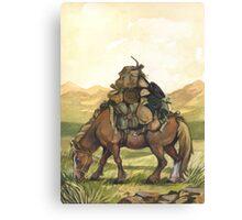 Bill the Pony Canvas Print