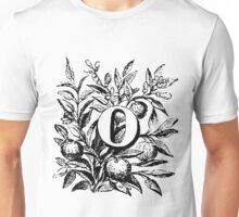 Plant Alphabet Letter O Unisex T-Shirt
