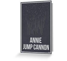 ANNIE JUMP CANNON - Women in Science Collection Greeting Card