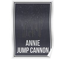 ANNIE JUMP CANNON - Women in Science Collection Poster