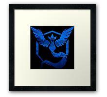 Team Mystic Logo Framed Print