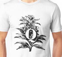 Plant Alphabet Letter Q Unisex T-Shirt
