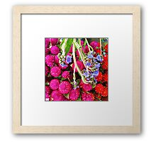 Nameless Beauties. Framed Print