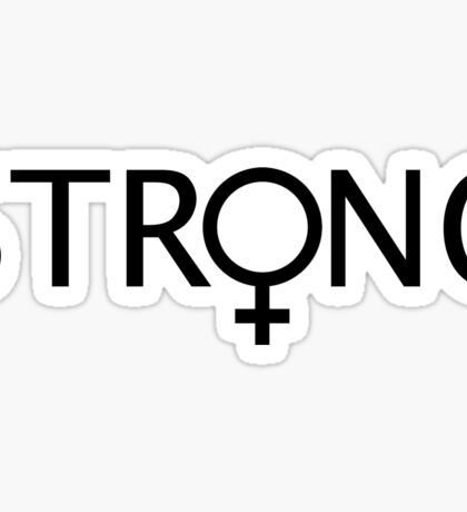 Strong Female Sticker