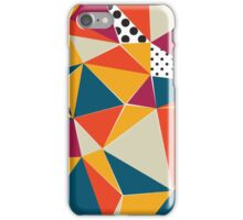 Colors, Triangles and Patterns iPhone Case/Skin