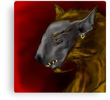 Lycan Canvas Print