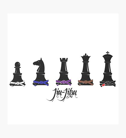 Human Chess Photographic Print