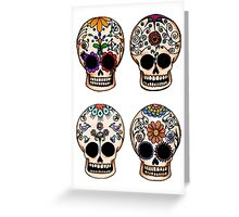 Sugar Skull Set Greeting Card