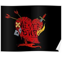 Never Stop Poster