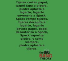 Sheldon Cooper (Spanish) by VHRA