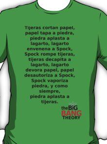 Sheldon Cooper (Spanish) T-Shirt