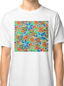 Trendy Floral Pattern Classic T-Shirt