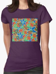 Trendy Floral Pattern T-Shirt