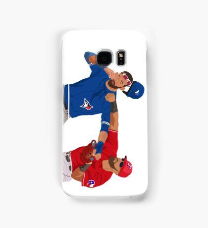 Rougned Odor vs Jose Bautista Fight Samsung Galaxy Case/Skin