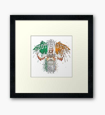 Conor McGregor Notorious UFC Framed Print