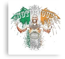 Conor McGregor Notorious UFC Metal Print