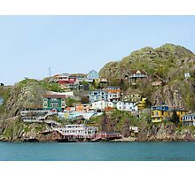 The Houses on the Hill Photographic Print