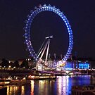 London Eye By Night by Neil Evans