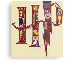 Harry Potter Collage Metal Print