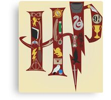 Harry Potter Collage Canvas Print