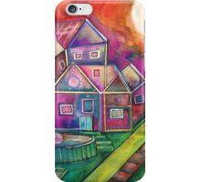 City neighborhood iPhone Case/Skin