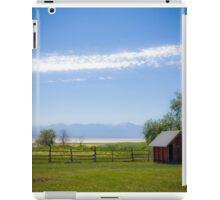 Salt Lake Barn iPad Case/Skin