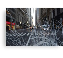 Branches on Wall Street  Canvas Print