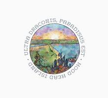 Ultra draconis, paradisus est - Hood Head Island, Washington (LIGHT) Unisex T-Shirt