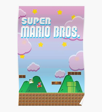 Mario Brothers Poster Poster