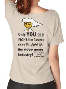 The Gaming Industry Needs Our Help - Gamer Master Funny Geek Meme Women's Relaxed Fit T-Shirt