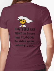 The Gaming Industry Needs Our Help - Gamer Master Funny Geek Meme Womens Fitted T-Shirt