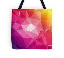 Colorful Geometry Tote Bag