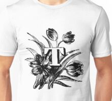Plant Alphabet Letter T Unisex T-Shirt