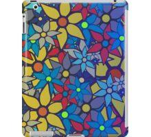 Trendy Floral Pattern iPad Case/Skin