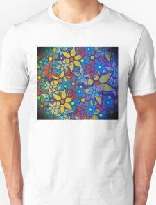 Trendy Floral Pattern Unisex T-Shirt