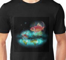 Goldfish Bubbles Unisex T-Shirt