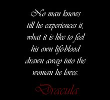 Drawn Away Into The Woman He Loves by Amantine