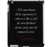Drawn Away Into The Woman He Loves iPad Case/Skin