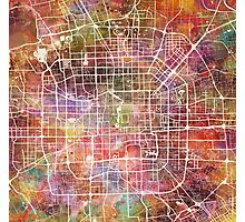 Beijing map Photographic Print