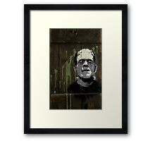 Frankenstein's Monster  Framed Print
