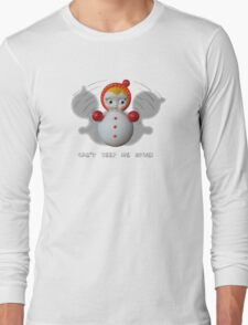 Can't Keep Me Down!  Roly-poly doll as Symbol of Resilience Long Sleeve T-Shirt