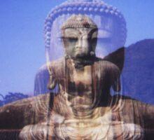 the buddha within Sticker