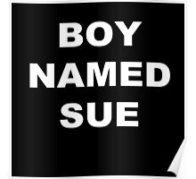 Boy Named Sue Poster