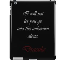 I Will Not Let You Go iPad Case/Skin