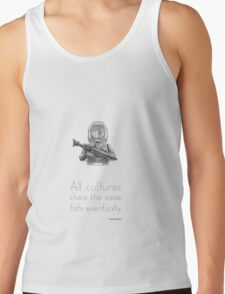 The Future - All Cultures Share the Same Fate Eventually Tank Top