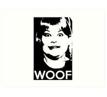 Buzz Your Girlfriend - WOOF! Art Print