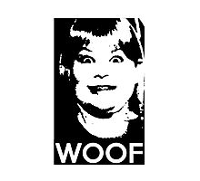Buzz Your Girlfriend - WOOF! Photographic Print