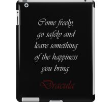 Leave Something Of The Happiness You Bring iPad Case/Skin
