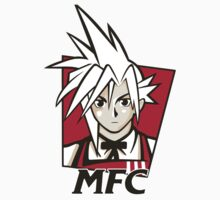 t shirt Midgar Fried Chocobo KFC MFC Cloud Strife final fantasy 7 VII Kids Clothes